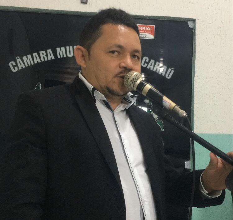 Vereador Dindo Braz solicita ao Deputado Estadual Raniery Paulino reforma da Escola Castro Pinto em Jacaraú-PB